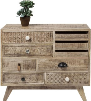 Chantilly Chest Drawers Carved Mangowood 31.5x13.8x25.6