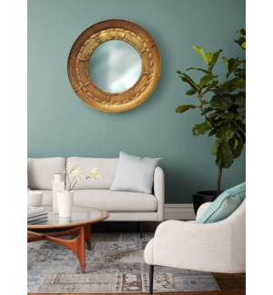 Industrial Circular Mirror, 32x32x4 inches LAST CHANCE!