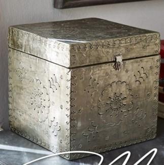 Decorative Wooden Box w/latch, 8x8x8 inches *Last Chance!*