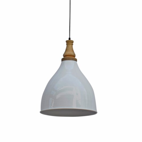 Shelly Lamp White