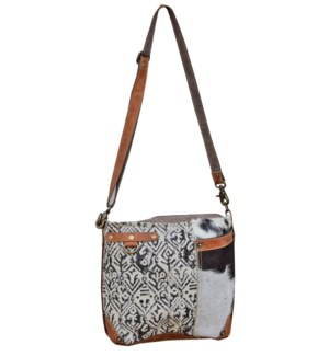 Charlene Cow Hide Shoulder Bag