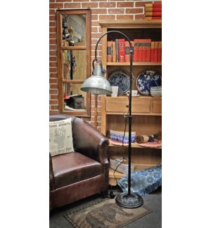 Charlie Floor Lamp 12x20.5x44in.