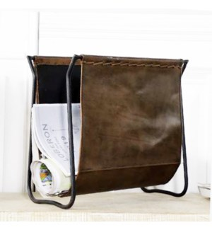 Magazine Holder,Black, 15x10x15 Inch