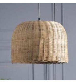 """""""Rattan Ceiling Lamp, Hand Woven"""""""