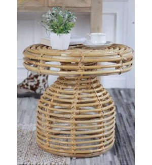 """""""Wicker Garden Coffee Table, Small, Handcrafted"""""""