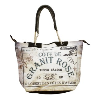Granit Rose Handbag , Canvas