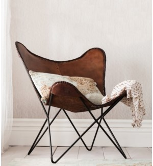 """Butterfly Chair, Brn w/Black"""