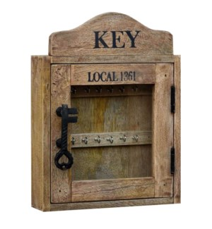 """Key Cupboard, 12x16x3 inches"""