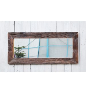 """Locarno Long Mirror, Wood"""