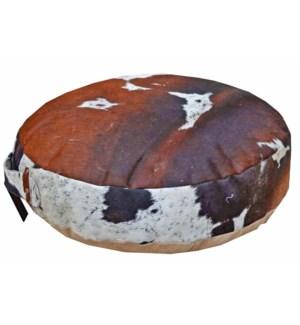 Cow Hide Pouffe