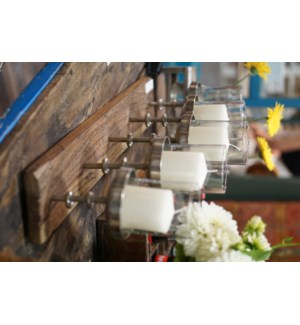 Candle Stand w/Gls Votives