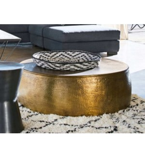 Brass Coffee Table OS