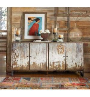 Karl Hutch/Sideboard Distres 70.8x15x33.5 inch