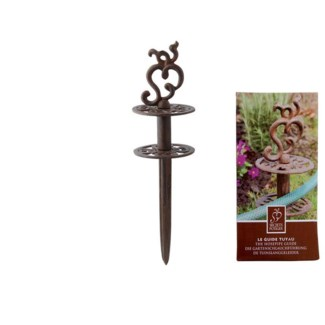 The Hosepipe Guide- Rusted Finish. Cast iron. 9,0x9,0x31,6cm. oq/6,mc/12 Pg.93
