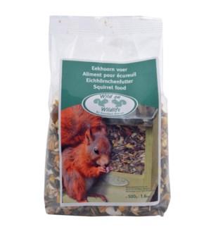 Squirrel food. Ingredients: co
