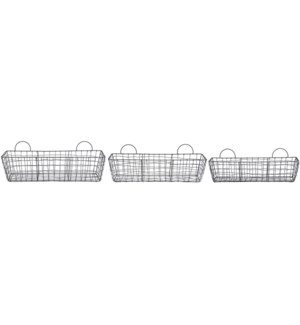 Wire basket long set/3
