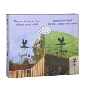 Rooster weathervane metal