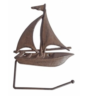 """Sailboat TP Holder, Rust LC"""