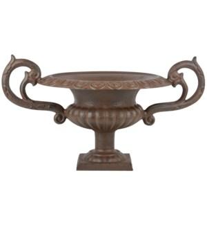 French urn low w hndls L.