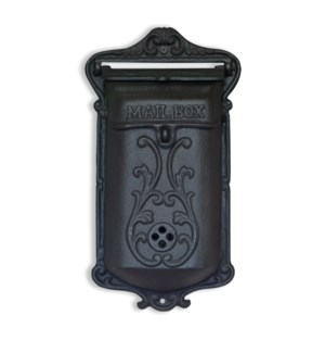 """""""Mailbox, Antique black"""""""