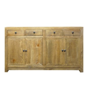 Huron Buffet Cabinet, Natural, Reclaimed  Pinewood,59x15.7x35inch