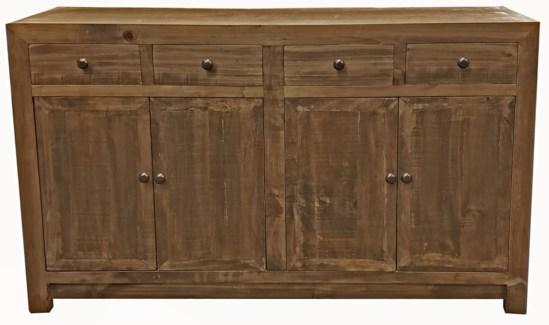 Huron Buffet Cabinet, Elmwood,59x15.7x35inch