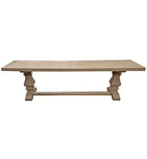 Superior Bench, Natural, Reclaimed Elmwood, 66x15x18inch
