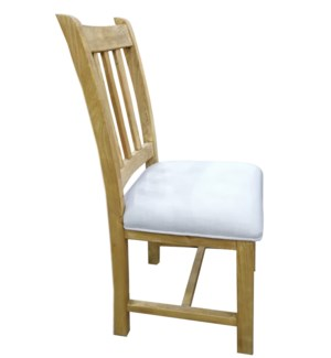 Rara Dining Chair, Natural, Recycled Elmwood,18.1 x 18.9 x 39.3 Inches