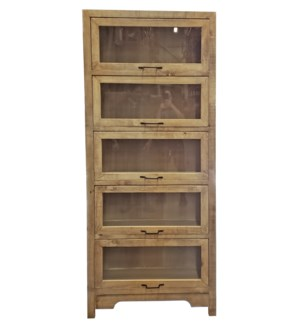 Mackinac Cabinet, Reclaimed Pinewood, 33.5x13.8x78.7inch