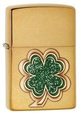 4 Leaf Clover Emblem, Brass