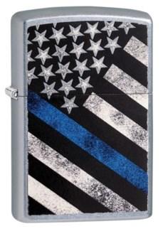 Blue Line Flag, Police