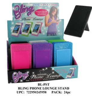 Bling phone lounge stand
