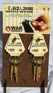 308 Bullet Bottle Opener Key Chain 24/Dsp