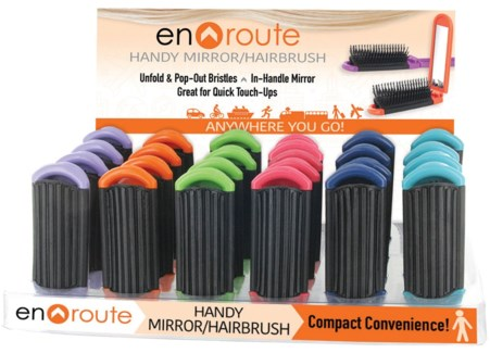 En Route Mirror Hairbrush 24DP