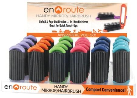 En Route Mirror Hairbrush 24DP