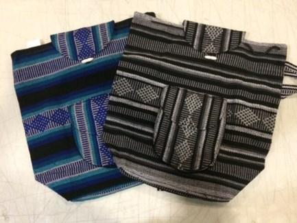 Woven Back Packs