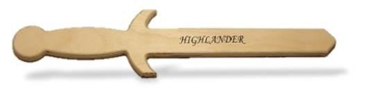 Highlander Medieval Sword