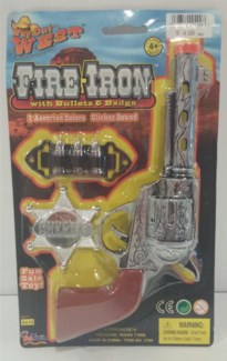 Fire Iron W Bullets & Badge