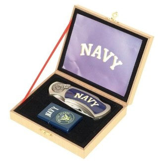 Navy Knife and Lighter Set