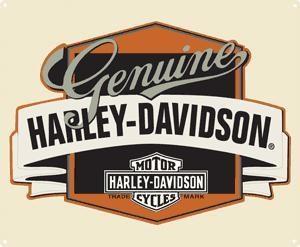 H-D Genuine w/ Banner