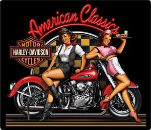 HD American Classics Embossed Sign