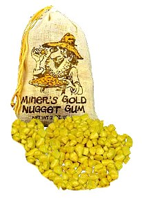 Miners Gold Nugget Gum