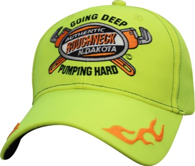 ND Authentic GDPH Roughneck Yellow Hat