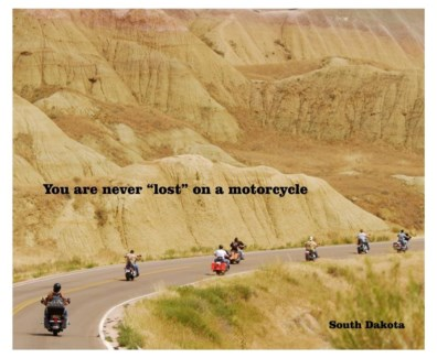 03 3x5 SD Biker You are never...