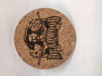 DW Cork Coaster