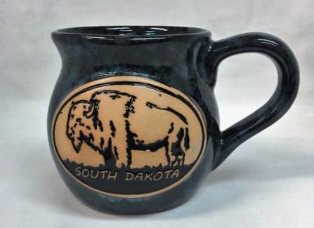SD Blue Bison Pot Belly Mug