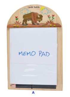 SD Bison Memo Pad Holder