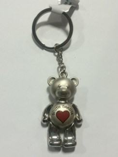 SD Bear w/ Moving Parts Key Ring