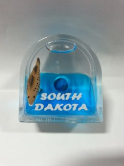 SD Walleye Door shape Magnet