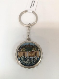 SD Bottle Cap Key Chain